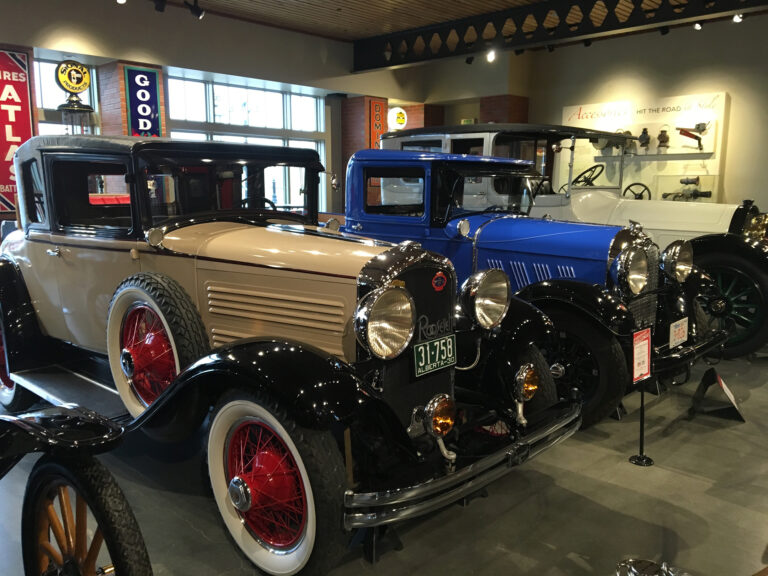 Classic Car Show - Antique Vehicles